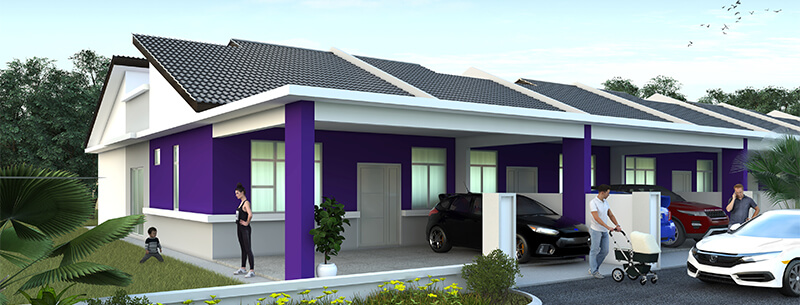 2.-Single-Storey-Terrace-(TYPE-B-&-C)---3D-perspective-resized-tinified
